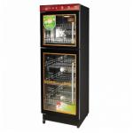 亿途YTP-380F2消毒柜 中低温消毒柜 上下玻璃门消毒柜