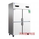 鼎美冰箱BF4 四门单温冷冻冰箱 四门全冷冻