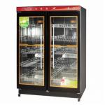亿途YTP-800F双门消毒柜 双玻璃门 中低温消毒柜