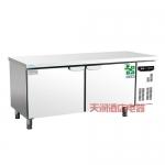 鼎美冰箱冷柜WBR18 操作台二门冰箱 平台雪柜
