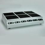 喜达客IND-EOP-E2.5×6T 六头煲仔炉 台式六眼电磁煲汤灶