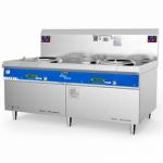 喜德力XDL-X400I电磁双头单尾小炒炉 商用电磁炒菜炉