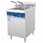 喜德力单缸双筛炸炉XDL-ZL 商用电磁炸炉