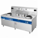 喜德力XDL-X500II电磁双头双尾小炒炉 商用电磁炒菜炉
