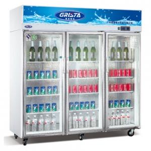 星星/格林斯达大三门展示柜SG1.6E3  星星E款三玻璃门展示柜 星星冰箱