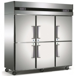 星星/格林斯达六门双温冰箱Q1.6E6-X   星星六门双温冰箱 E款经济款
