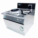 明钢kym-XC400-12单头单尾小炒炉 明钢电磁灶 12KW单头单尾小炒炉