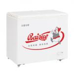 白雪冷柜BD/C-216FA   卧式冰箱 转换型冷冻冷藏箱 单室蝶形门