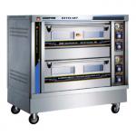 康庭KXY24-4KT烤箱  康庭两层四盘燃气烤箱