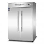 康煜RTP-950B热风循环消毒柜 不锈钢双门消毒柜 商用餐具消毒柜