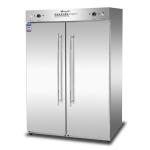 康煜RTP-800C2双门高温消毒柜  不锈钢餐具消毒柜 商用消毒柜