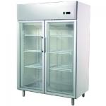 卡姆尼GNF1400L2G双大门风冷陈列柜 双门冷冻展示柜