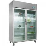 卡姆尼VZ1.0L2-GFPL双大门冷冻展示柜  双门冷冻陈列柜