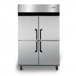 海德立DB-W1.0四门双温直冷立柜 商用四门冰箱 高身雪柜 四门双温冰箱