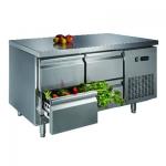 卡姆尼GNTC700-1355D4四抽屉风冷工作台  商用平台雪柜/冷藏工作台