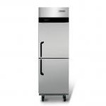 海德立DB-L0.5两门单温直冷立柜 二门冷冻冰箱 上下门商用冰箱
