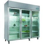 卡姆尼VZ1.6L3-GCPL三大门展示柜  三门保鲜陈列柜