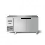 海德立DA-TL12平台冷柜 1米2风冷平台雪柜 海德立卧式工作台 冷冻操作台