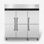 海德立DB-W1.6六门双温直冷立柜 六门冷柜 高身雪柜 六门双温冰箱