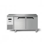 海德立DB-TH12平台冷柜 1米2直冷平台雪柜 海德立卧式工作台 冷藏操作台