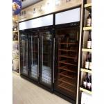LIZE多门红酒柜15160017 多门展示柜定做 展示柜定制