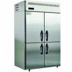 松下四门高身高温雪柜SRR-1581CP 风冷四门冰柜 松下冷柜 Panasonic四门冷藏柜 松下四门商用厨房冰箱
