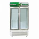 Gelin/格林LC-859立式双门展示柜 超市饮料展示柜/陈列柜【格林冷柜】