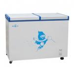 Gelin/格林BD/C-212双折门冷柜 卧式蝶形门转换型冰柜【格林冷柜】