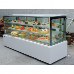 LIZE直角蛋糕柜定制15160010  白色大理石蛋糕柜