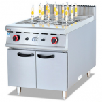 杰冠GH-988立式燃气煮面炉连柜座  杰冠西厨 燃气煮面炉
