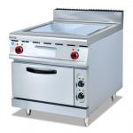 杰冠EG-886立式电热扒炉连柜座 杰冠西厨 商用立式电扒炉