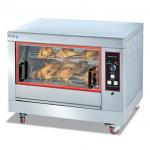 杰冠EB-268旋转烤鸡炉  单层电旋转烤鸡炉