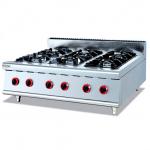 杰冠GH-997-1燃气六头煲仔炉  杰冠台式六头炉