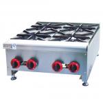 杰冠GH-4燃气煲仔炉   台式四头煲仔炉  杰冠西厨设备