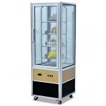 杰冠CP-400四面玻璃展示柜  杰冠蛋糕展示柜  商用蛋糕柜