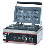 杰冠EG-6G小鱼饼机  小吃设备  杰冠西厨炉具