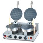 杰冠ZU-2双头烘雪糕皮机  杰冠西餐厨具