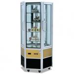 杰冠CP-600六面玻璃展示柜  六面透视蛋糕柜  杰冠蛋糕柜