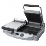UNOX 双头黑色微晶陶瓷三文治平烤炉XP020E/XP020P   双头压板扒炉