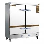 美厨蒸饭车MCKZ-H28 豪华型28盘蒸饭柜双门电蒸箱电热蒸汽两用蒸饭柜