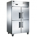君诺四门单温冷冻冰箱LZ100D4  君诺冷柜