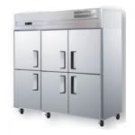 君诺六门单温冷藏冰箱LZ150C6   商用六门冷藏柜