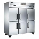 君诺六门双温冰箱LZ150C4D2   商用六门双温冰箱