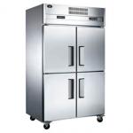 君诺四门双温冰箱LZ100C2D2   商用四门双温冰箱