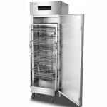 康煜RTP-750A热风循环消毒柜 不锈钢单门消毒柜 商用餐具消毒柜 高温消毒柜 带推车消毒柜