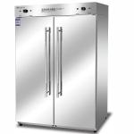 康煜RTP-800D(2)高温消毒柜 不锈钢双门消毒柜 商用餐具消毒柜