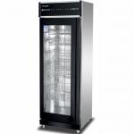 康煜YTP-650A低温消毒柜 单玻璃门消毒柜 商用餐具消毒柜 触摸屏消毒柜
