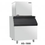 久景制冰机AS-1800 HISAKAGE商用碎冰、矿形冰制冰机 850公斤制冰机