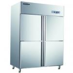 洛德四门单温冰箱QB1.0L4LD-C    四门冷藏冰箱   金松洛德