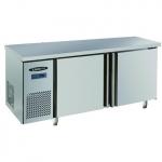 洛德03风冷平面操作台    一米五冷藏工作台